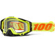 100% Racecraft Goggle attack yellow / clear